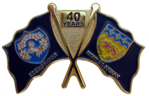 40th Badge